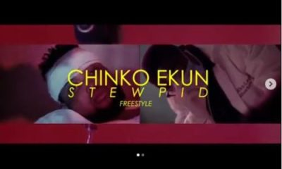 Video: Chinko Ekun - Stewpid (Freestyle)