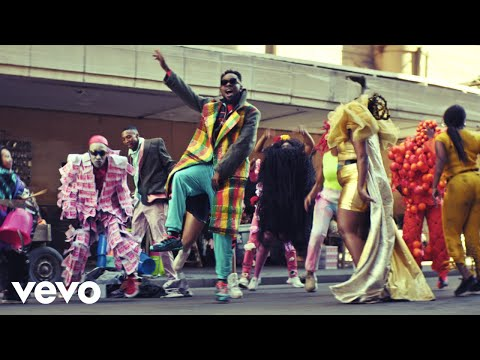 Patoranking Open fire video