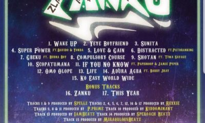 Zlatan Zanku album track list