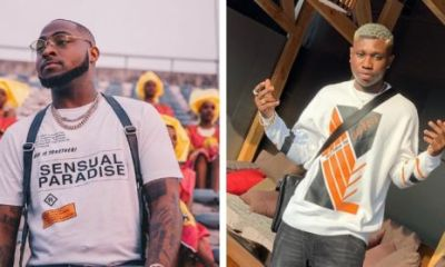 Davido and Zlatan JEWELRY GIFT