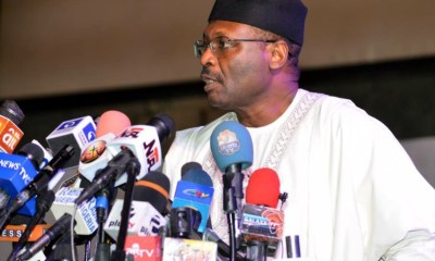 INEC chairman on re-run election