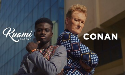 Kuami Eugene ft. Conan O'Brien – For Love [VIDEO]