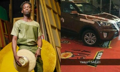 Hip TV yet to give Mr Eazi car gift for 2016 Next Rated Award win