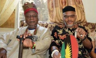 IPOB leader, Nnamdi Kanu loses his father