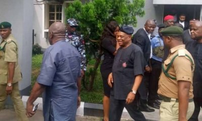 Don't handcuff me! – Orji Uzor Kalu weeps after jail sentence