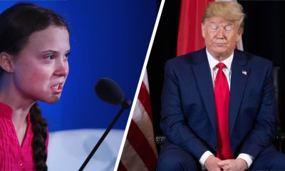 'Girl with anger management problem!' President Trump mocks 16-year-old Greta Thunberg, she fires back