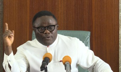 Governor Ayade breaks silence on Agba Jalingo, thinks he should be released