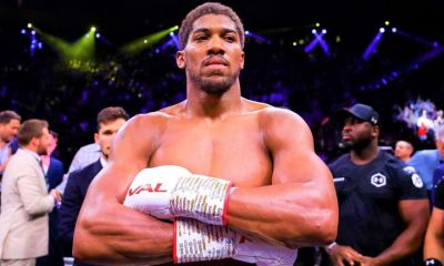 These photos of Anthony Joshua's well toned body will make you drool