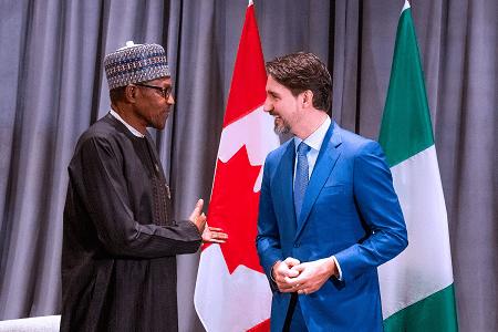 Buhari-and-Canadian-Prime-Mininster