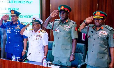 Sacking service chiefs now will threaten national unity - Presidency