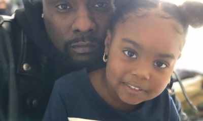 Beautiful photo of rapper, Wale with his daughter