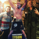 TYson Fury goes to pub to celebrate St Patrick's day despite government's advice