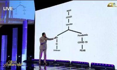 Pastor Oyakhilome explains relationship between Coronavirus, 5G, Antichrist's plan [VIDEO]