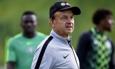 NFF extends Gernot Rohr's contract as Super Eagles coach