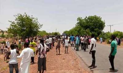 Gombe COVID-19 patients take to the streets to protest lack of care