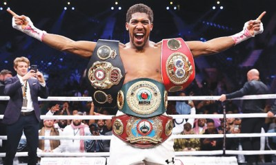 Anthony Joshua ranked second-richest sportsperson in UK