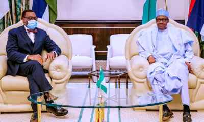 I wrote African leaders to support Adesina - Buhari reveals topnaija.ng