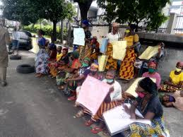 Women stage protest as cultists kill 20, sack Rivers community topnaija.ng