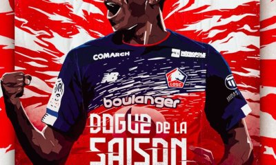Victor Osimhen voted Lille's player of the season