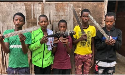 5 teenager highway robbers arrested in Ogun topnaija.ng