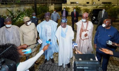 Buni leads APC committee members to Tinubu's residence [PHOTOS] topnaija.ng