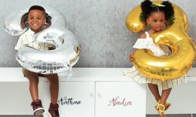 Paul Okoye's twins turn 3, see adorable photos topnaija.ng