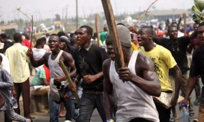 Irate Anambra youths destroy 150 buildings over land dispute topnaija.ng