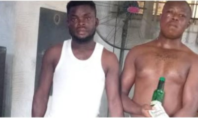 Two arrested for dolla fraud in Ogun topnaija.ng