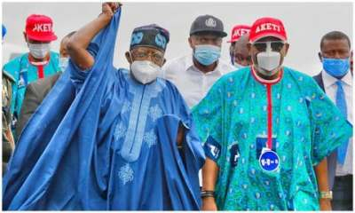 Tinubu, Akande arrive in Ondo for Akeredolu rally 01 topnaija.ng