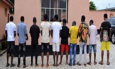 EFCC 10 yahoo boys Oyo