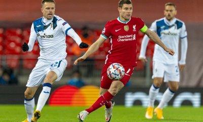 Atalanta defeats Liverpool 2-0