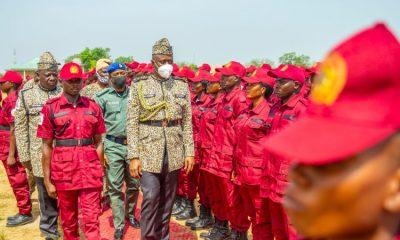 Seyi Makinde inaugurates Amotekun