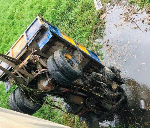 Drunk truck driver falls off Lagos bridge, drowns in river