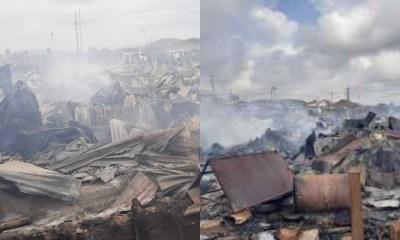 Midnight inferno destroys shops, goods in Osun market-TopNaija.ng