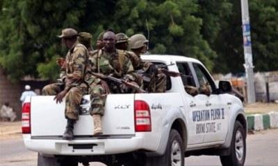 Nigerian military escorts rescue woman, shoot kidnapper dead in Edo-TopNaija.ng