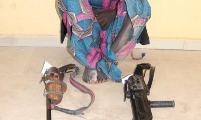 16-year-old suspected female bandit arrested in Niger state-TopNaija.ng