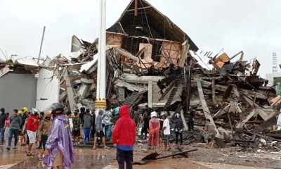 Indonesia: 7 killed, several injured in collapsed buildings damaged by an earthquake-TopNaija.ng