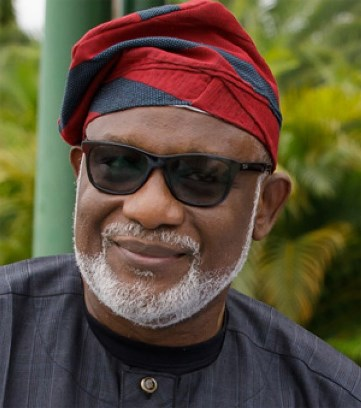 Akeredolu sworn-in for a second term as Ondo Governor
