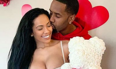 Erica-Mena-Safaree-Samuels Erica Safaree kiss