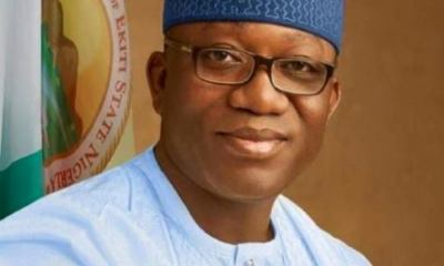 Governor Fayemi to compensate #EndSARS victims with N7.2m Top Naija