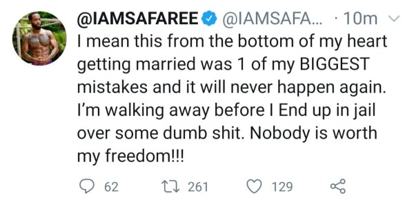 Safaree marriage