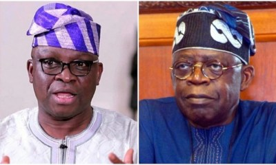 Tinubu is a leader Fayose talks on 2023 presidency Top Naija
