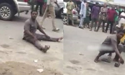 mad man kills crisis in rivers