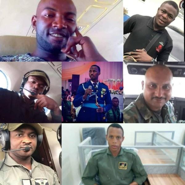 Photos of officers killed in Abuja plane crash released topnaija.ng