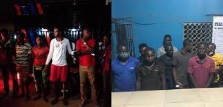criminals arrest police-1