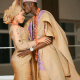 Nigerian footballer, Peter Olayinka holds wedding introduction with Actress Yetunde Barnabas