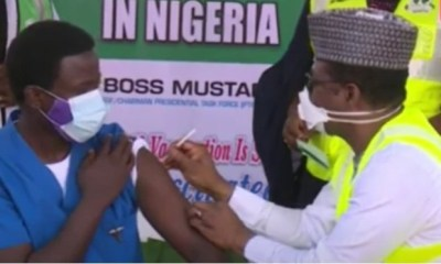 BREAKING Nigeria commences COVID-19 vaccination Top Naija