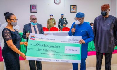 Fayemi compensates first batch of police brutality survivors [PHOTOS]