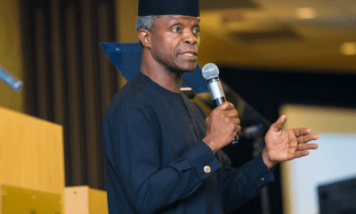 Osinbajo urges citizens to be committed to Nigeria's unity, peace