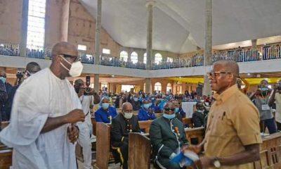 Obaseki meets Oshiomhole